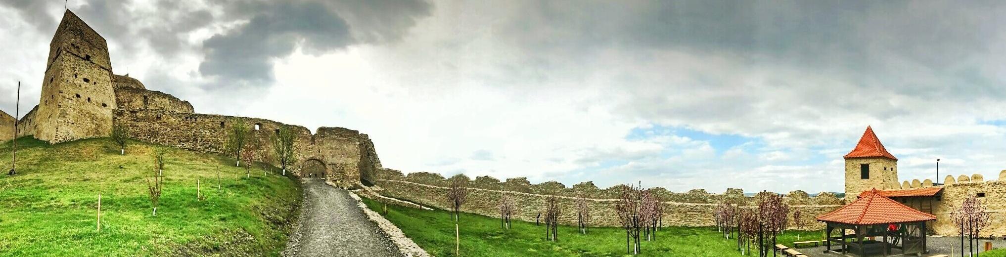 Cetatea RUPEA panoramă