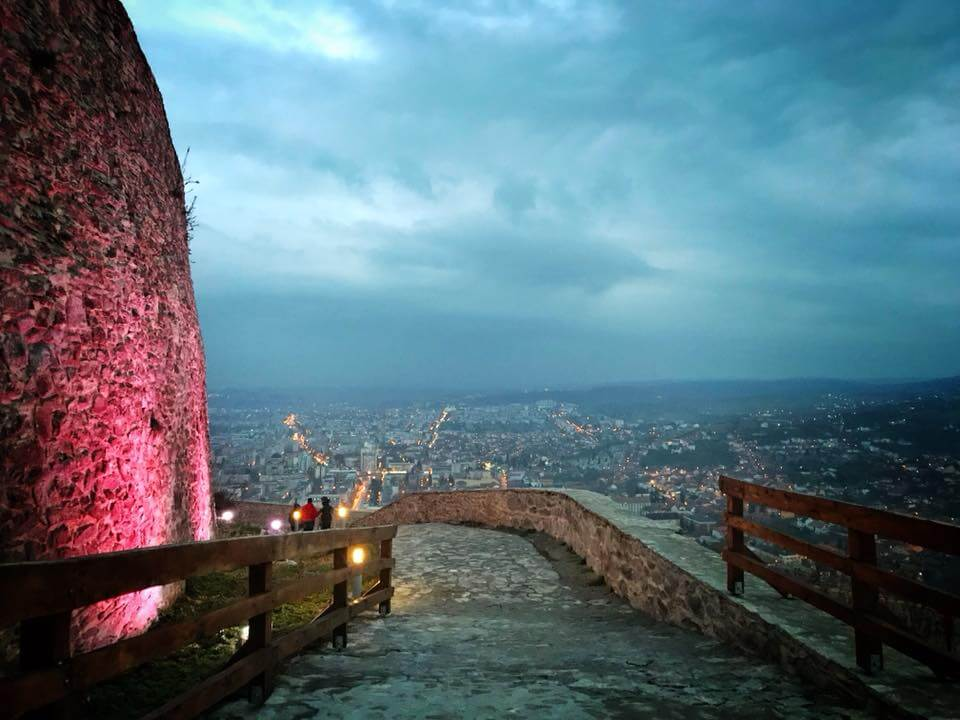 Daniel Rosca vizita Cetatea Devei