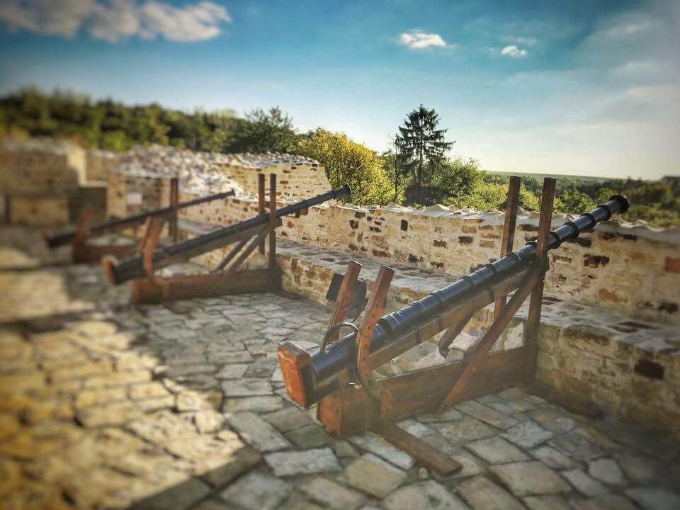The unbeatable fortress Suceava Citadel