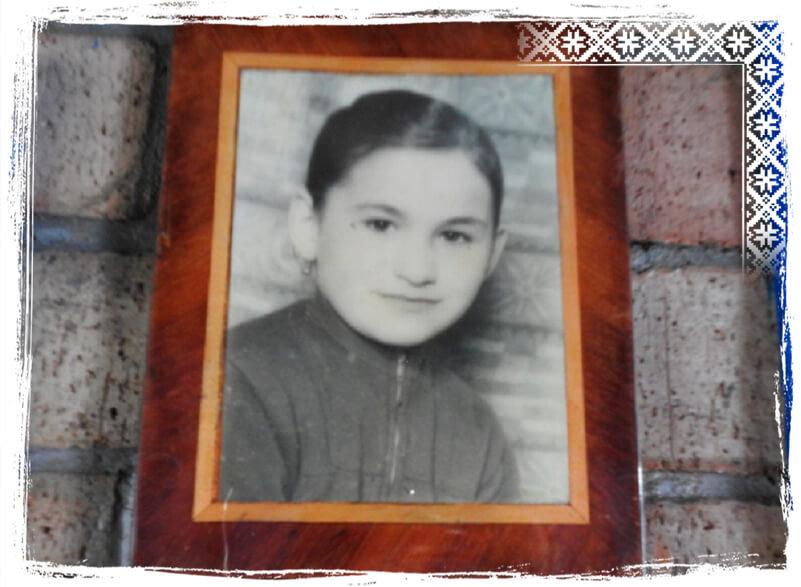 Maria Zapca in copilarie foto Povestea Locurilor