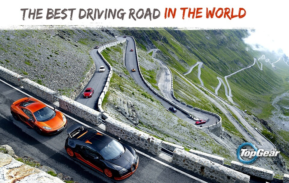 Transfagarasan The best driving road in the world TOP GEAR