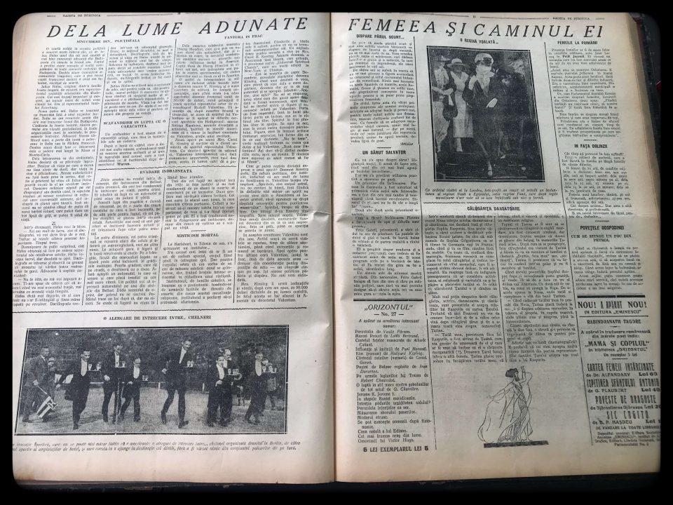 Gazeta de Duminică, 10 iulie 1927 pag 11 12