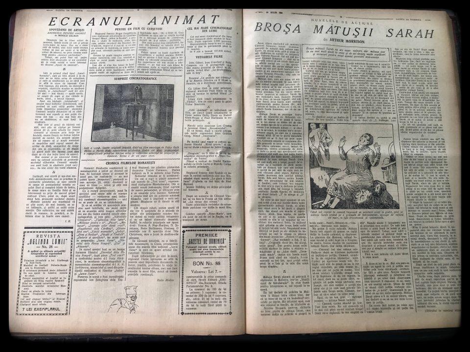 Gazeta de Duminică, 10 iulie 1927 pag 13 14