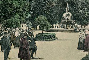 Brasovul anilor 1927 Ulitele sasesti din Brasov si parcul