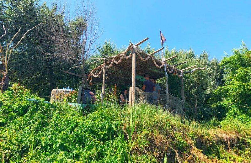 Tavernele pescărești de pe plaja din TUZLA 2