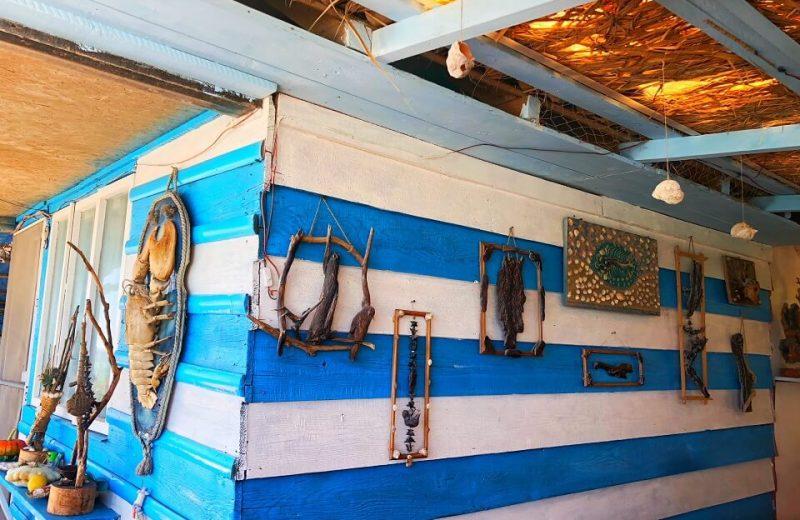 Tavernele pescărești de pe plaja din TUZLA 4