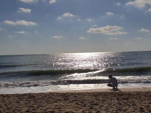 Calin ENE Vama VECHE pe plaja