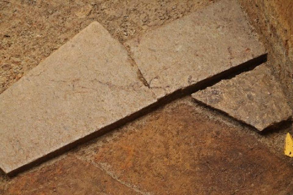 Descoperire în continuarea drumului pavat din Sarmizegetusa REGIA 1
