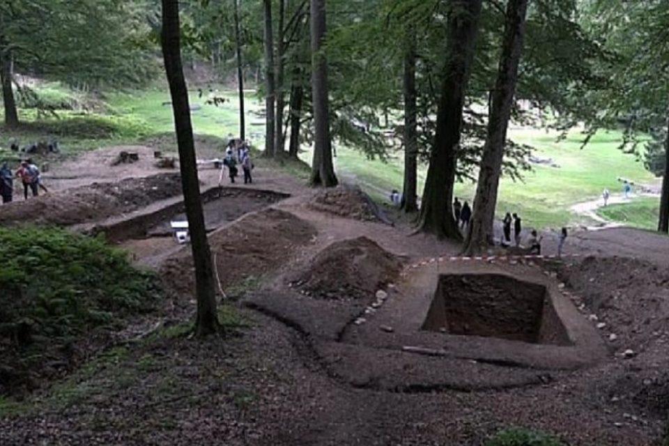 Descoperire în continuarea drumului pavat din Sarmizegetusa REGIA 2