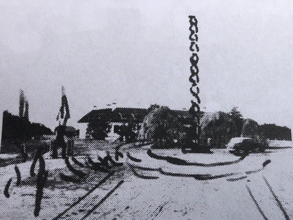 1 Schița Coloanei – Făcută de Brâncuși în august 1937