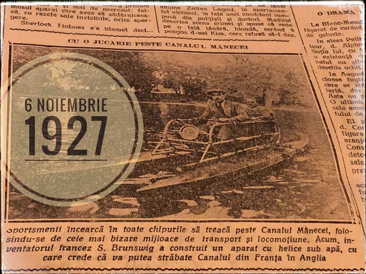 Minerul 6 noiembrie 1927