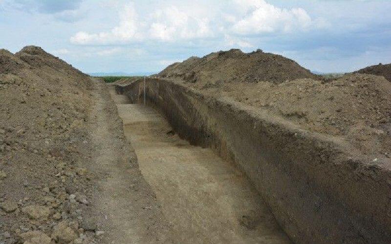 Cetatea Veche din Sântana 2