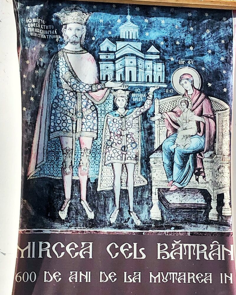 Locul de veci al lui Mircea cel Bătrân 3