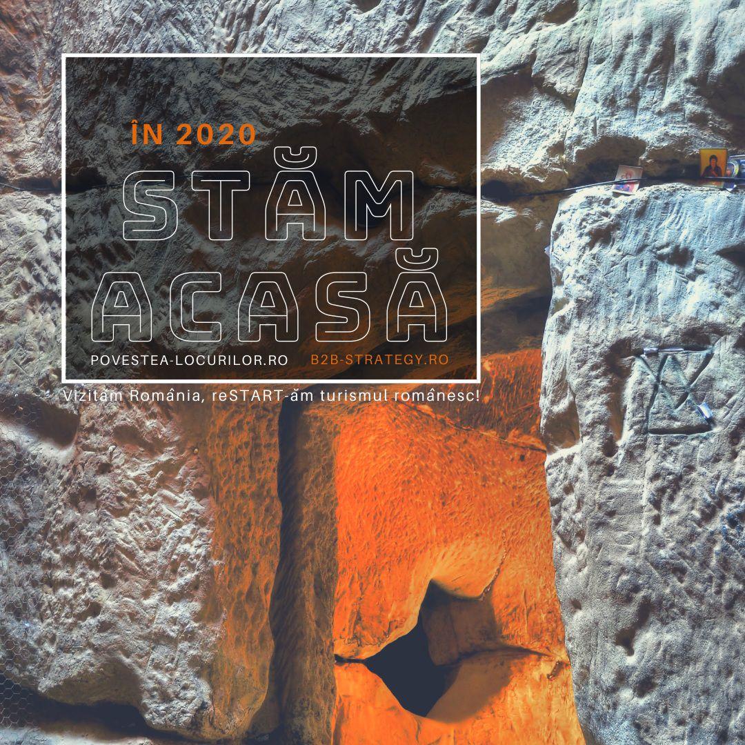 Mănăstirea Şinca Veche săpată în piatră Templul Ursitelor Strategie Turism Povestea Locurilor