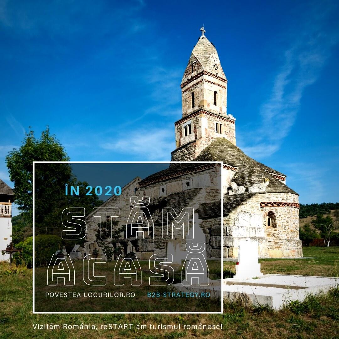 Manastirea Dintr-un LEMN Povestea Locurilor Campanie 2020 Biserica Densus Hateg