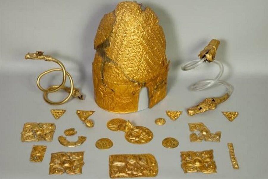 Tezaurul Princiar al Frăției Getice (Băiceni-Cucuteni) Ansamblu de piese sec. V î.Hr.