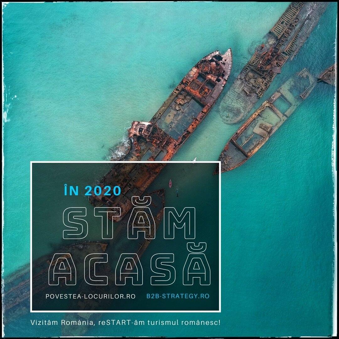 Corabia legănată în eternitate Strategie Turism Dobrogea Constanta Mazare Povestea Locurilor