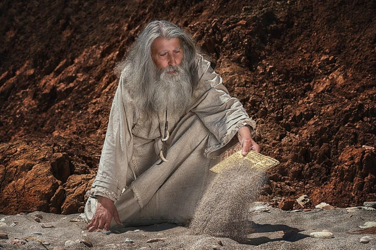 Legile lui ZAMOLXE Gelu Vladoiu rol Zamolxe 4