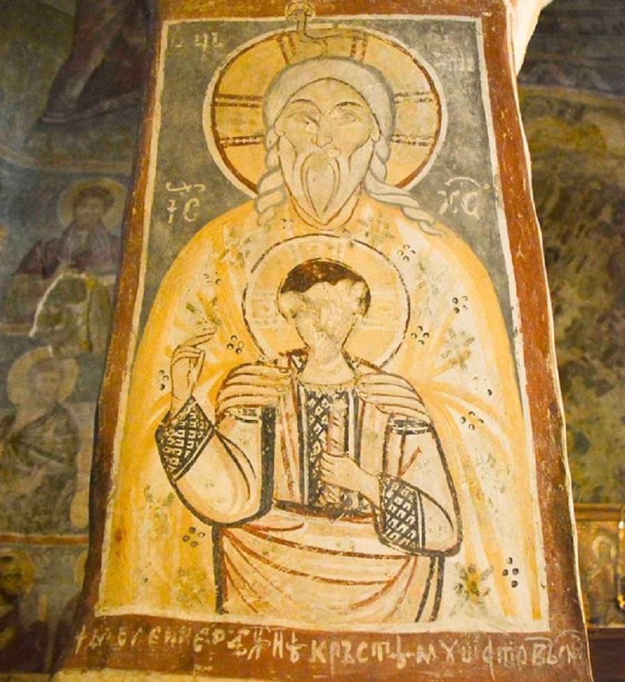 Iisus adolescent in Biserica Densus