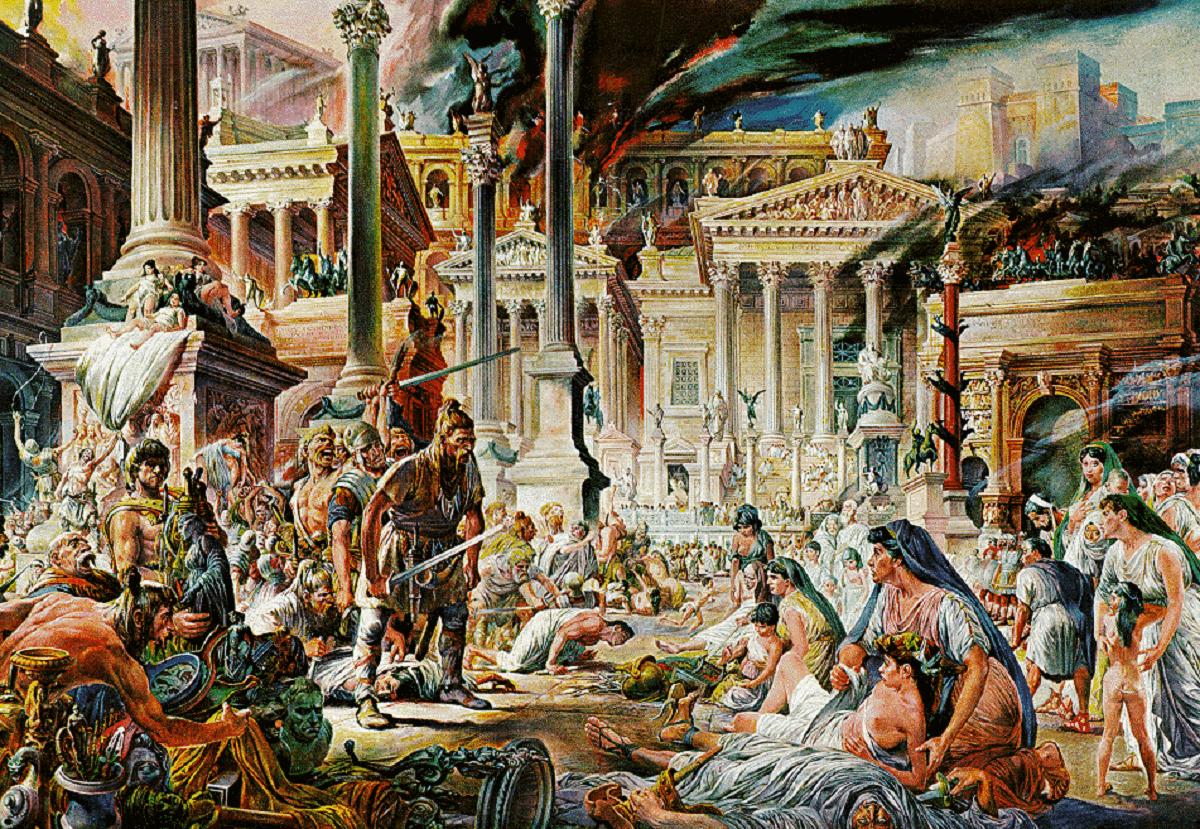 Cine a spulberat ROMA ALARIC