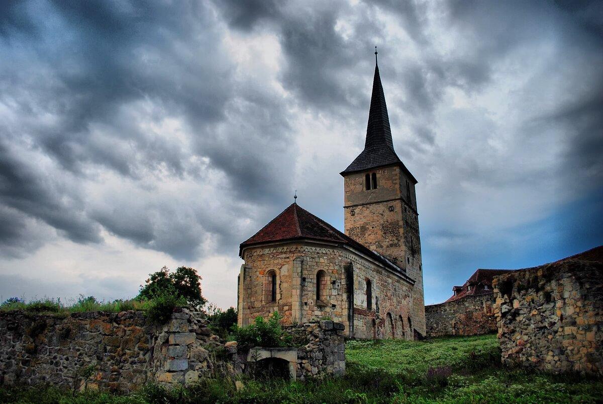 Biserica medievală din Sântimbru, ALBA Atletul lui HRISTOS