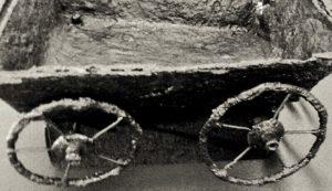 carul din epoca fierului carul din fier dacic getic