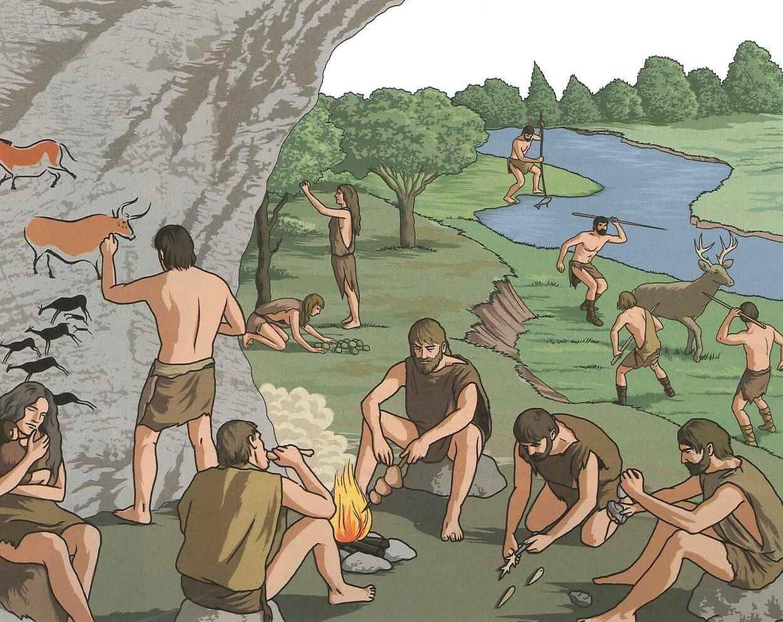 Paleolitic Povestea Locurilor NEAMT Poiana Ciresului