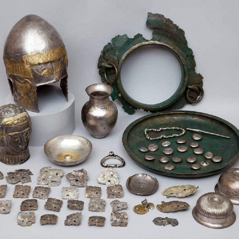 Tezaur Getic Peretu (MNIR) – Ansamblu de piese sec. V î.Hr. (Teleorman)