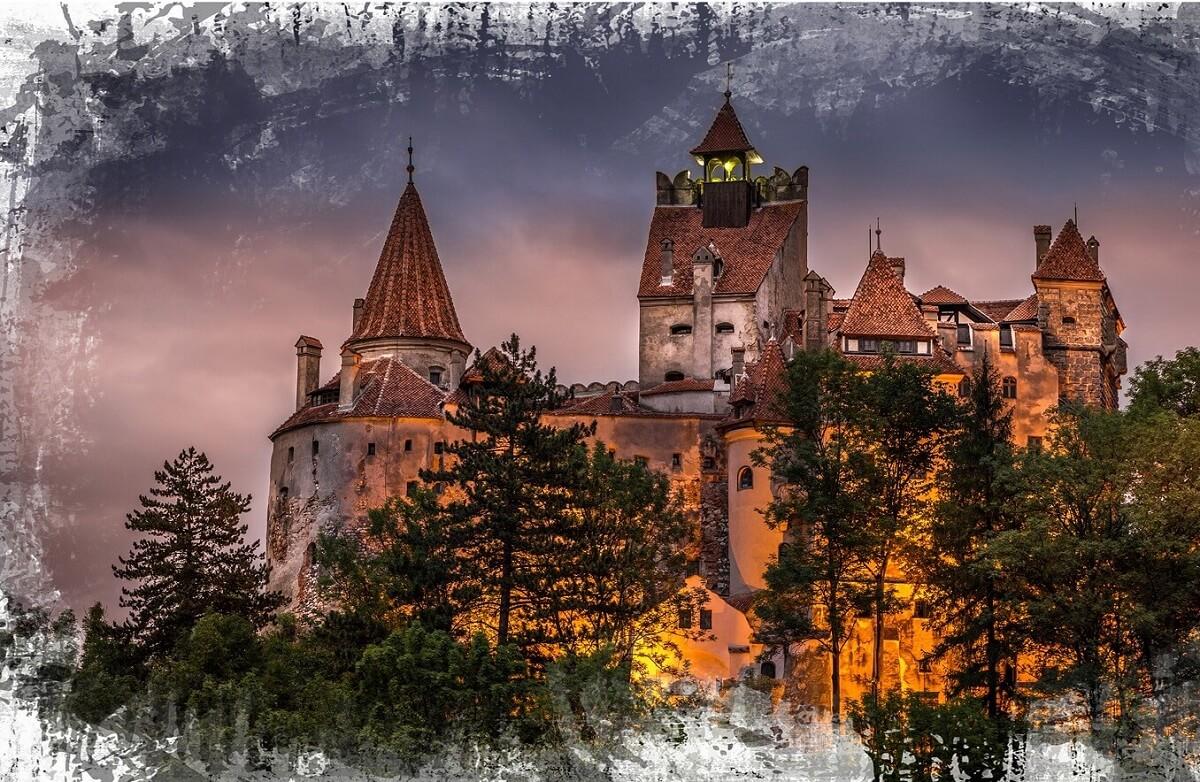 Povestea ROMANIA OLD EUROPE IMEX America Castelul BRAN
