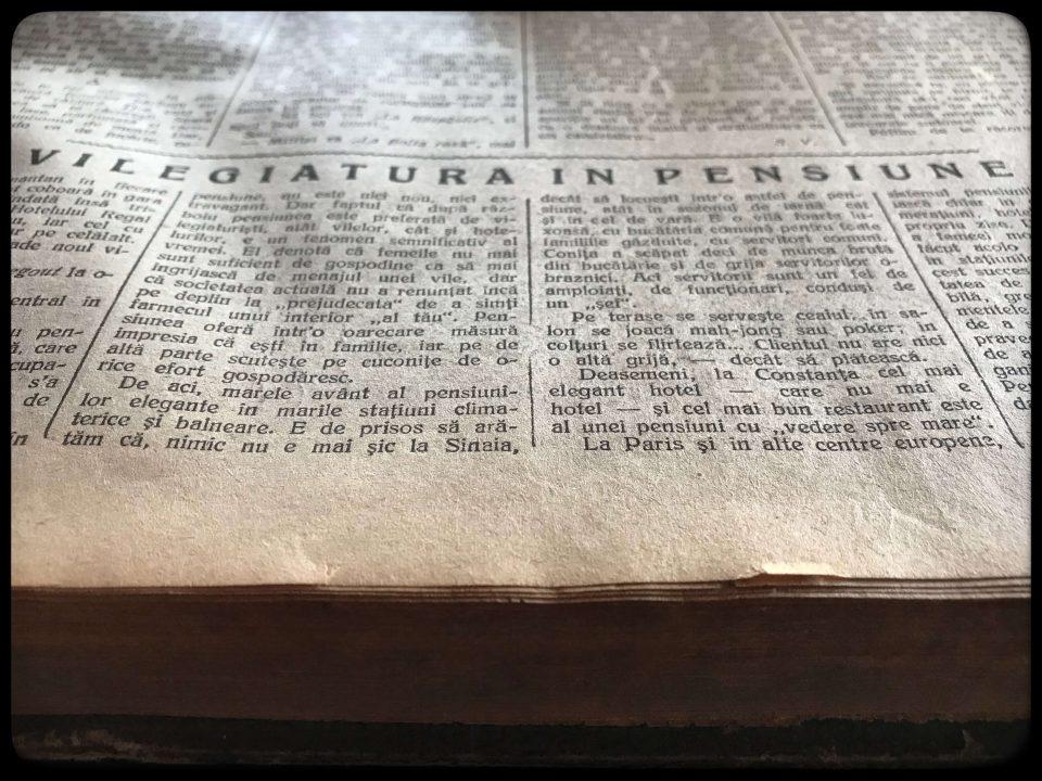 Vilegiatura în Pensiune 10 iulie 1927 foto 1