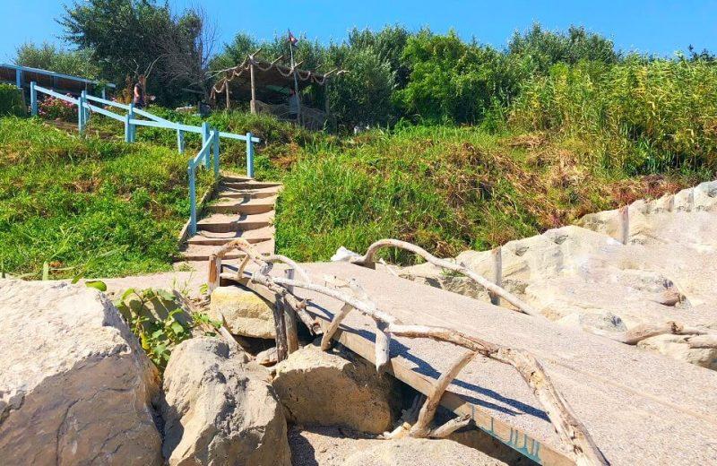 Tavernele pescărești de pe plaja din TUZLA 1