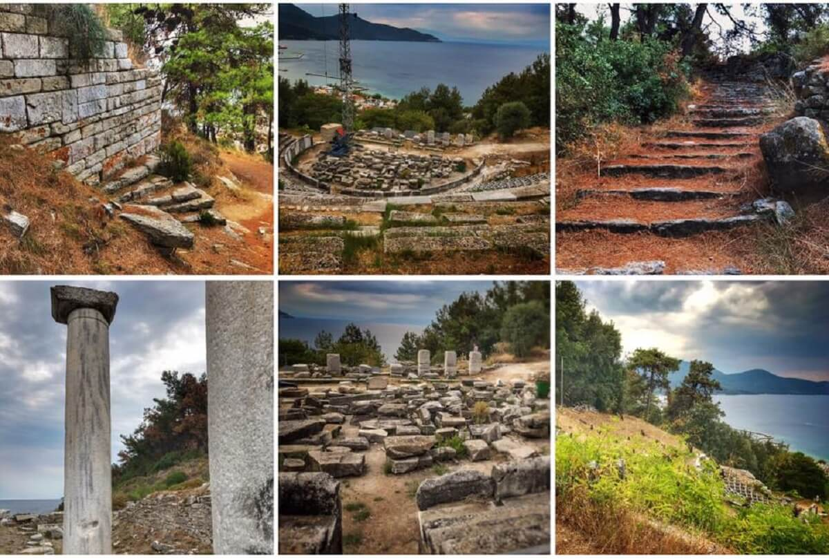 Amfiteatru roman in Thasos featured