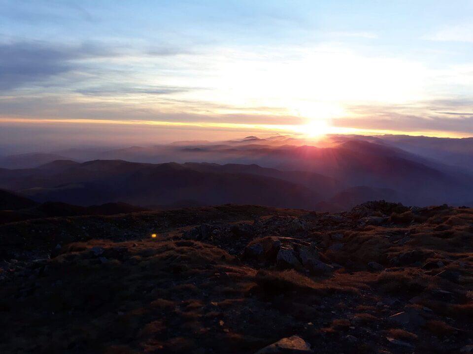 0 Vârful Cârja (2.405 m) la 360 °