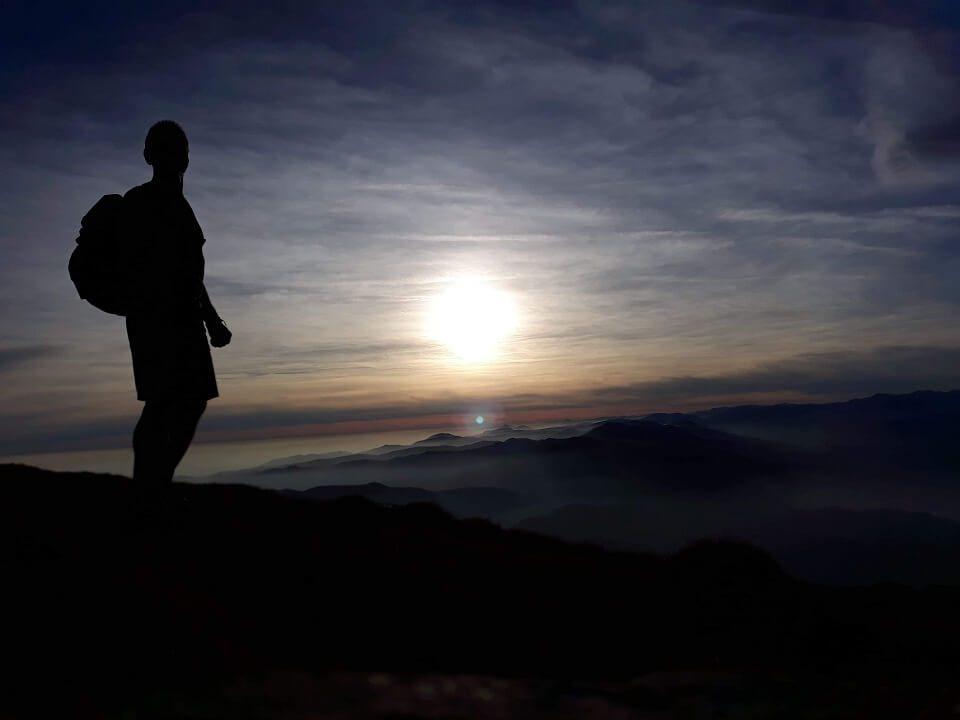 7 Vârful Cârja (2.405 m) la 360 °