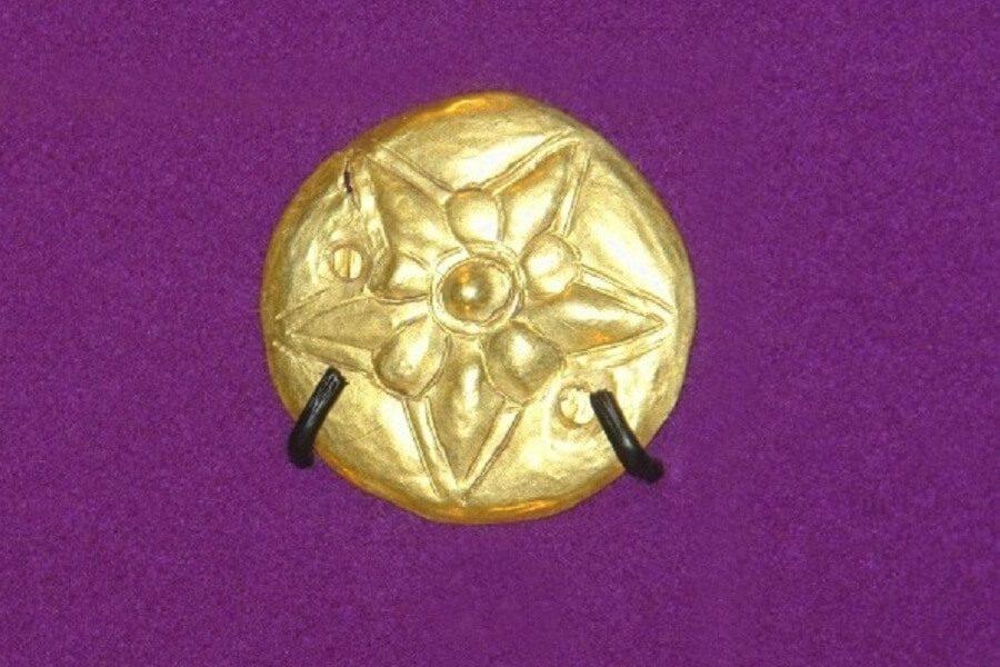 Piesă de aur getică – sec. V-IV î.Hr. (Băiceni-Cucuteni)