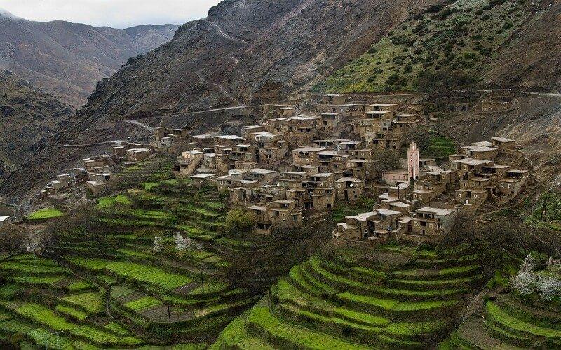 Satul de berberi Marrakech – Imlil – Ouanskra