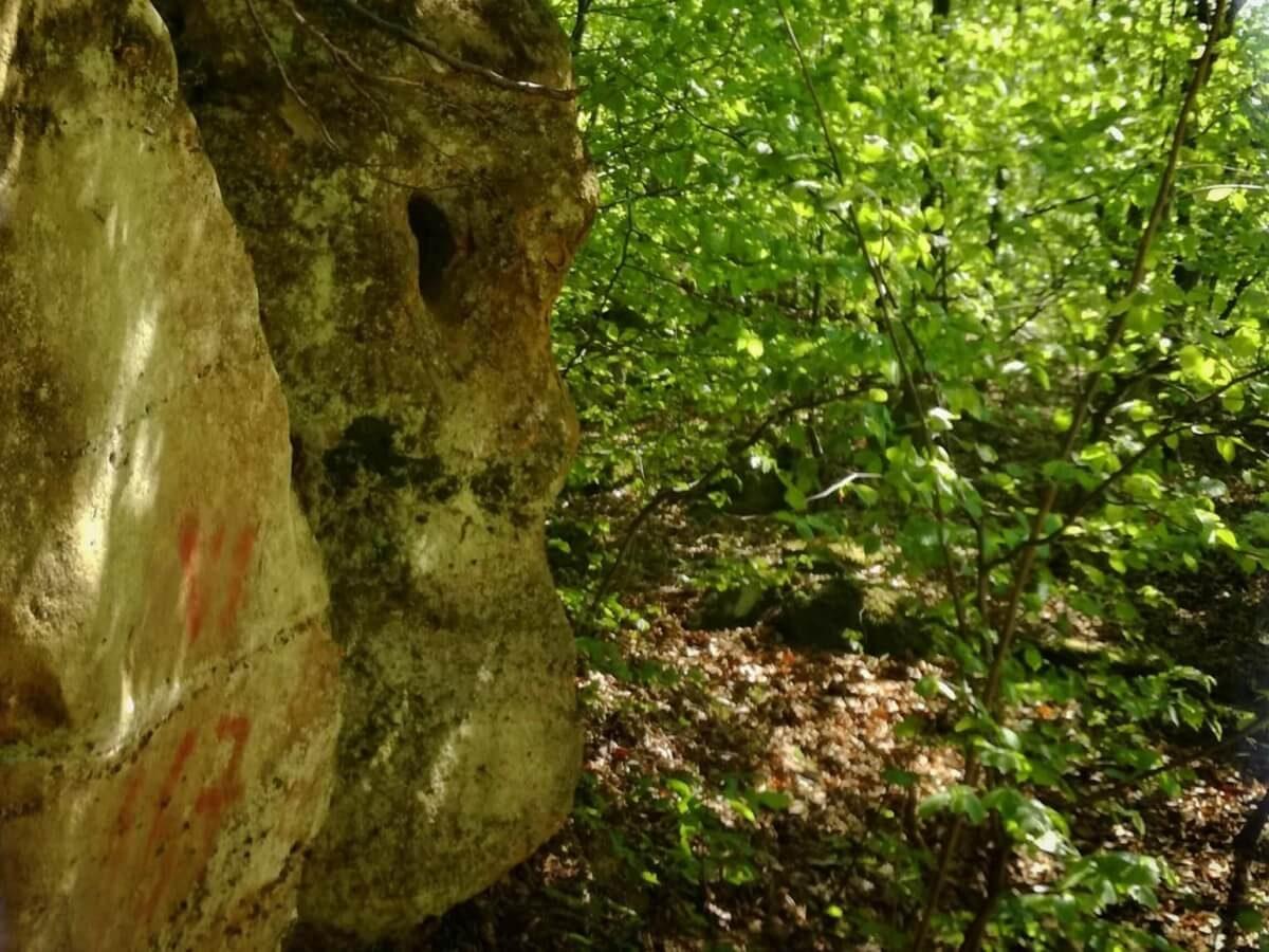 17. Sfinxul din Valea Buhii.