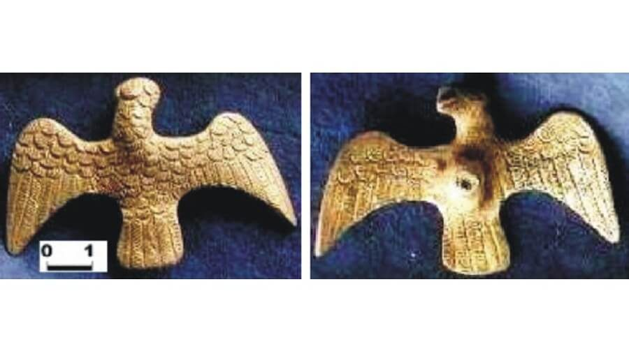 3 The roman eagle from Bărboşi