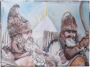 Fascinatia Mestesugului Iuliana SAVA pictura-cu DACI